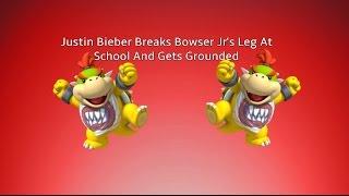 getlinkyoutube.com-Justin Bieber Breaks Bowser Jr's Leg At School And Gets Grounded MWP Short