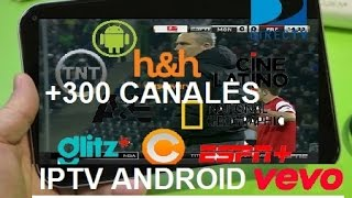 getlinkyoutube.com-Como tener TV Satelital GRATIS Android IPTV + 300 Canales PREMIUM + Lista 2016