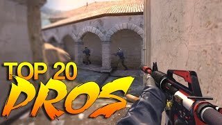 getlinkyoutube.com-CS:GO - PRO Players of 2015 (Top 20)