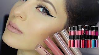 getlinkyoutube.com-Sephora Cream Lip Stain Swatches | NEW SHADES