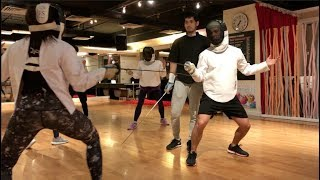 OneFitCity Learns Fencing with a Two-Time Olympian