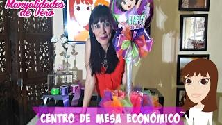 getlinkyoutube.com-Centro de mesa economico de Dora La Exploradora.
