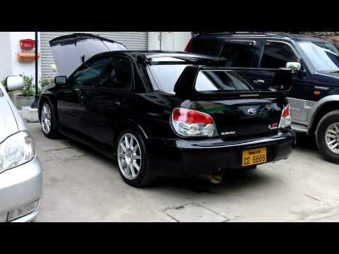 Звук выхлопа Subaru Impreza WRX STI