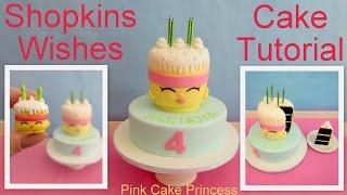 getlinkyoutube.com-Shopkins Cake - How to Make Shopkins Wishes Birthday Cake by Pink Cake Princess