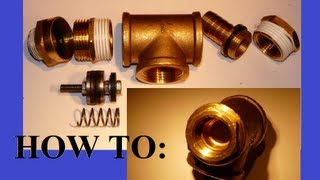How to make a QEV/piston valve (explicit)