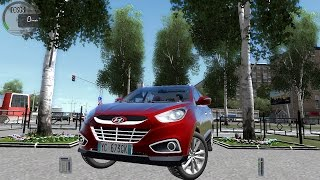 getlinkyoutube.com-City Car Driving 1.5.0 HYUNDAI IX35 | TUCSON [G27]