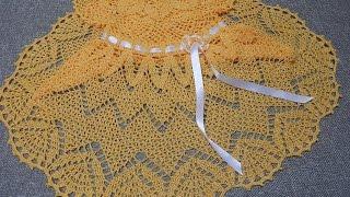 getlinkyoutube.com-Vestido Zig Zag Crochet parte 1 de 3