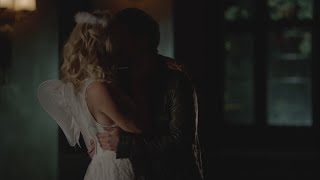 getlinkyoutube.com-The Vampire Diaries: 7x04 - Stefan kisses Caroline, make out and have sex [HD]