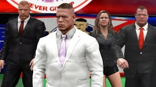 getlinkyoutube.com-WWE 2K17 Story - John Cena Joins The Authority