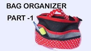 getlinkyoutube.com-Travel Insert Organizer/ Purse Makeup Organiser PART 1 / DIY Bag Vol 12A