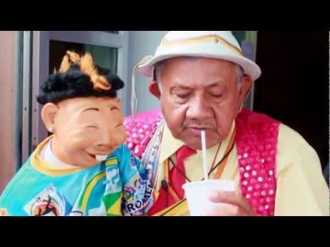 Boneco Neymar em Serra Talhada