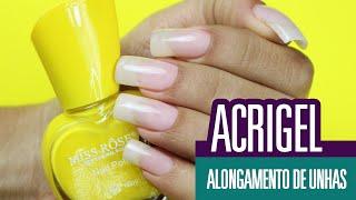 getlinkyoutube.com-Unhas de Acrigel - Segredos da Colocação PERFEITA | Cola na Villar