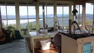 getlinkyoutube.com-Adventure Oregon - Pickett Butte Fire Lookout - Tiller, Oregon