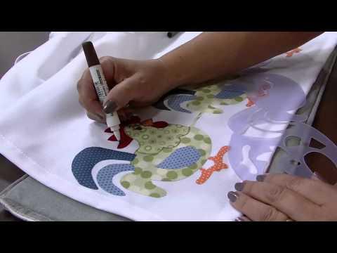 Mulher.com 08/04/2014 - Customização com barrados por Isamara Custodio Parte 02
