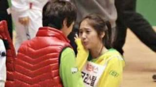 getlinkyoutube.com-[MINSTAL] Minho and Krystal - UNSEEN MOMENT Pict @ Idol Track Championship 2011