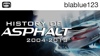 getlinkyoutube.com-History of - Asphalt (2004-2013) | blablue123