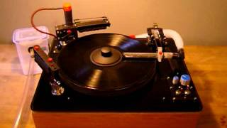 DIY Record Cleaning Machine with Rotary Brush