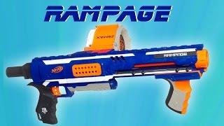 getlinkyoutube.com-Nerf Elite Rampage | Magicbiber