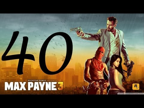 Max Payne 3 Walkthrough - Part 40 HD no commentary Hard Mode gameplay Chapter 14