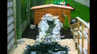 Mon bassin fait maison avec filitration à voir
