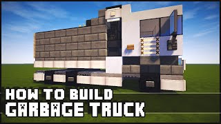 getlinkyoutube.com-► Minecraft : How to Make - Garbage Truck