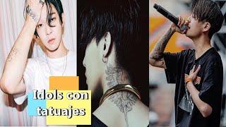 getlinkyoutube.com-Idols with real tattoos...  Do you like it or not????