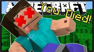 getlinkyoutube.com-11 WAYS TO DIE IN MINECRAFT! | Minecraft Custom Map