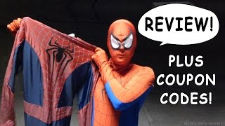 "getlinkyoutube.com-Spider-Man Reviews ""The Amazing Spider-Man 2"" Theatrical Costume!"
