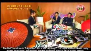 getlinkyoutube.com-TVXQ - Homin @ Sakigake Special Guest [Eng Sub]