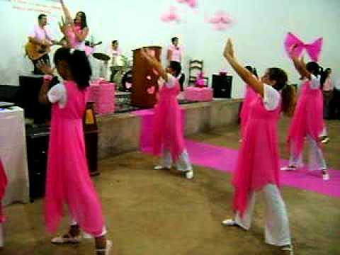 1º Culto rosa  - Ituiutaba _ MG Igreja do Evangelho Quadrangular