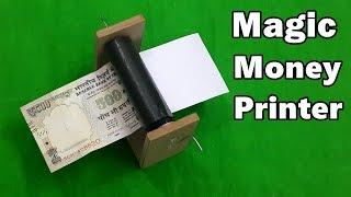getlinkyoutube.com-How to Make a Money Printer Machine - Fun Magic Trick
