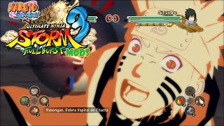 getlinkyoutube.com-Naruto Shippuden Storm 3 Full Burst MODS Naruto Kurama NV2(REVOLUTION)