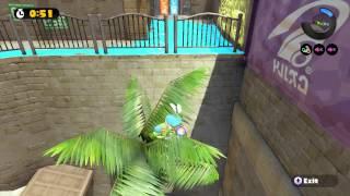 getlinkyoutube.com-Splatoon - Weird Palm Tree Glitch (Arowana Mall)
