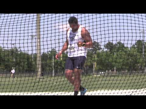 Men's Hammer Throw - Moore, Riddle, Moses - NAIA Track & Field Championships