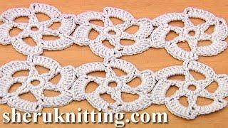 getlinkyoutube.com-Easy to Crochet Floral Motif Tutorial 30