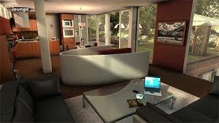 getlinkyoutube.com-Unity3D Interior Environment -  Lake Villa