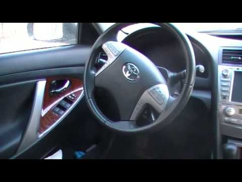 Установка камеры заднего вида на автомобиль Тойота Камри