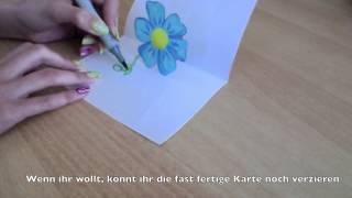 getlinkyoutube.com-Pop up cards selber basteln