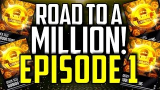 Road To A MILLION Coins! :- Episode 1 :- Madden Mobile