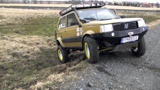 getlinkyoutube.com-Panda 4x4 OFF Road axle lock