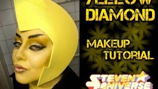 getlinkyoutube.com-Yellow Diamond (Steven Universe) - Makeup Tutorial