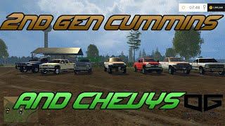 getlinkyoutube.com-Farming Simulator 2015 Mods- Bronco, 2nd Gen Cummins,  00' Chevy, And More!