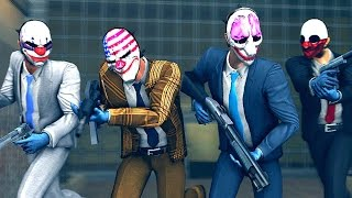 getlinkyoutube.com-PAYDAY 2 - THE WORST HEIST ROBBERY EVER!