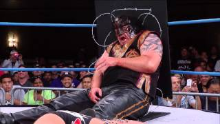 getlinkyoutube.com-Monsters Ball:  Bram vs. Abyss (Aug 7, 2014)