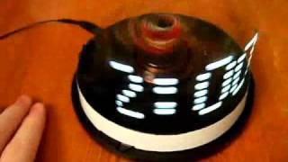 getlinkyoutube.com-Необычные часы (Propeller clock)