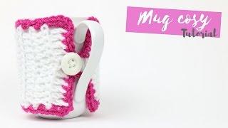 getlinkyoutube.com-CROCHET: Mug cosy tutorial | Bella Coco