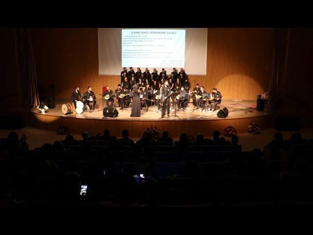 Güzel Sanatlar Fakültesi'nde Türk Halk Müziği Konseri gerçekleştirildi