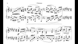 getlinkyoutube.com-【楽譜】Chronosをピアノアレンジしてみたところ。
