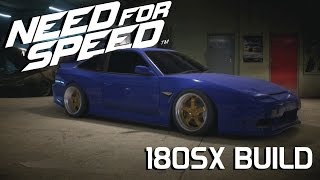 getlinkyoutube.com-NISSAN 180SX - Drift Build || Need For Speed 2015