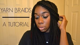 getlinkyoutube.com-#16: How To: Yarn Braids Tutorial (Mid-length)